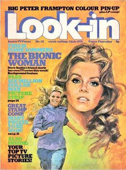 1976-07-03 Look-In 1 cover