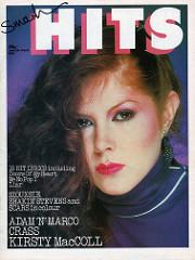Smash Hits, June 25, 1981 - p.01 Kirsty MacColl cover