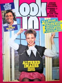 1982-04- Look-in 1 cover Altered Images