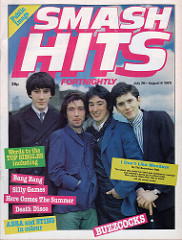 Smash Hits, July 26, 1979 - p.01 Buzzcocks cover