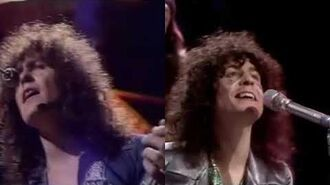 T. Rex - Get It On (1971 Top of the Pops Comparison)