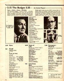 1965-04-06 ITV listings 1 The Budget