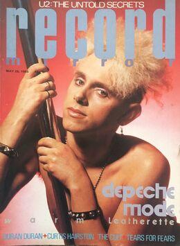 1985-05-25 RM 1 cover Martin Gore