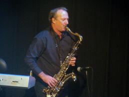 Martin Cooper recent sax