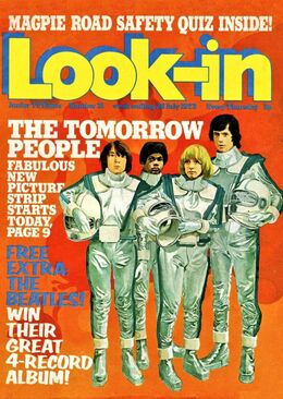 1973-07-28 Look-In 1 cover Tomorrow People