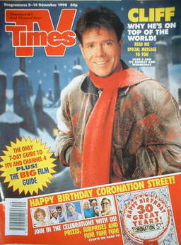 1990-12-08 TVT 1 cover Cliff Richard