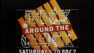 18 September 1986 - BBC1, Rock Around the Clock trail & EastEnders