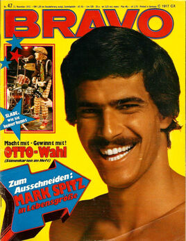 1972-11-15 BRAVO cover Mark Spitz