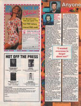 1991-01-09 Smash Hits Rick Astley 1