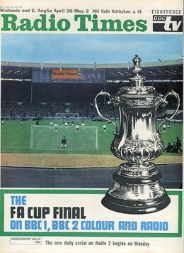1969-04-26 RT 1 cover FA Cup final