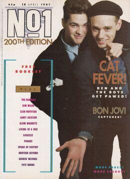 1987-04-18 No1 1 cover 200th edition