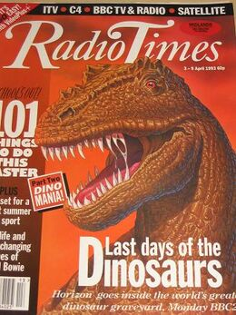 1993-04-03 RT 1 cover dinosaurs