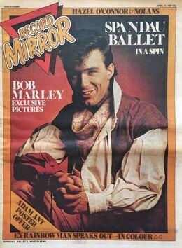 1981-04-11 RM 1 cover Sapndau Ballet