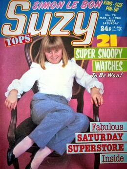 1984-03-03 SUZY 1 cover
