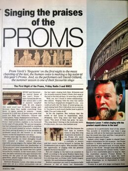 1988-07-22 RT First Proms 1