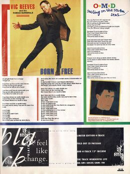 1991-05-01 Smash Hits OMD Sailing On Seven Seas lyrics