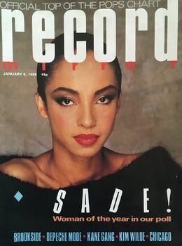 1985-01-05 RM 1 cover Sade
