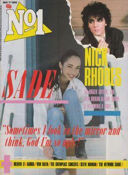 1986-05-17 No1 magazine 1 cover