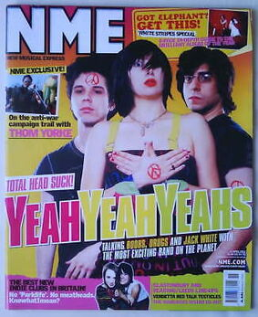 2003-04-12 NME 1 cover