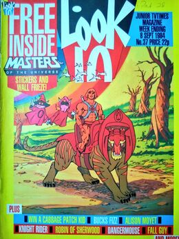 1984-09-08 Look-In 1 cover