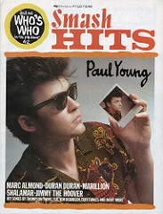 Smash Hits, July 7, 1983 - p.01 Paul Young cover