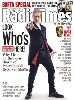 2014-05-17 RT 1 cover DW Capaldi