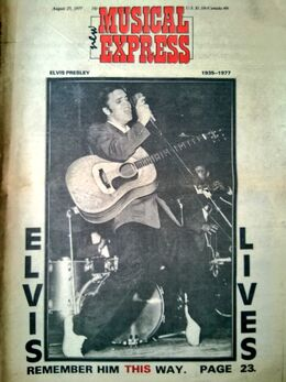 1977-07-27 NME 1 cover