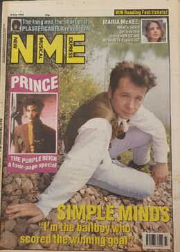 1989-07-08 NME 1 cover