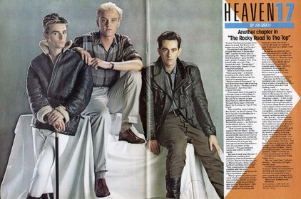H17 Smash Hits 1983-05-12 centrespread colour pic and feature