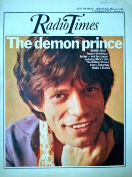 1973-04-07 RT 1 cover Mick Jagger 1