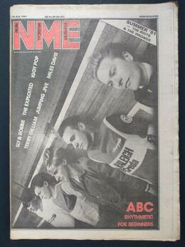 1981-07-18 NME 1 cover ABC