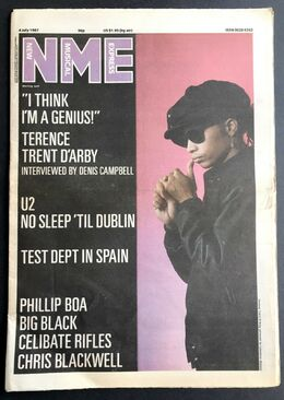 1987-07-04 NME 1 cover