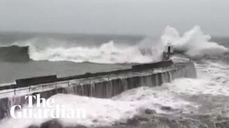 Storm Dennis- footage shows weather chaos hitting the UK
