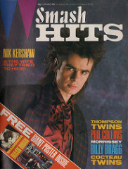Smash Hits, April 11, 1985 - p.01 Nik Kershaw cover