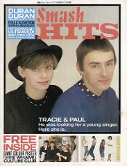 Smash Hits, March 17, 1983 - p.01 Tracie Paul cover