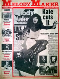 1980-10-04 Melody Maker 1 cover Kate Bush