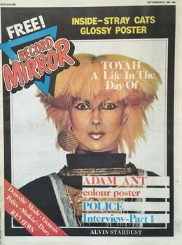 1981-09-26 RM 1 cover Toyah