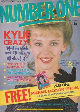 1988-07-09 No1 1 cover Kylie