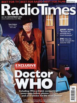 2003-11-22 RT 1 cover Doctor Who 4