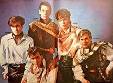 1981-06-06 Look-In 2 Spandau Ballet poster