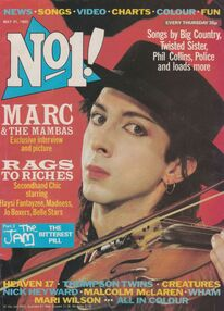 1983-05-21 No1 magazine 1 cover