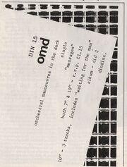 Messages small ad Smash Hits May 1980
