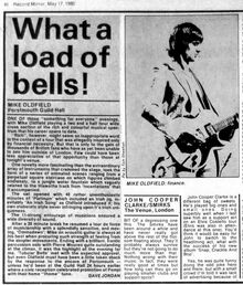 1980-05-17 Record Mirror live review Portsmouth Guild Hall