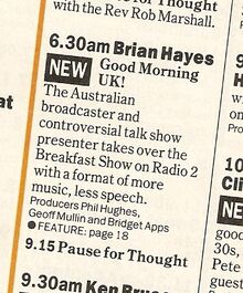 1992-01-06 Brian Hayes new Breakfast Show R2