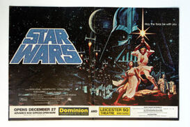1977-12-27 Star Wars poster with opening date