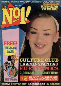 1983-05-07 No1 magazine 1 cover first issue