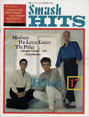 Smash Hits, September 1, 1983 - p.01 H17 cover