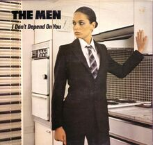 I Don't Depend On You cover front