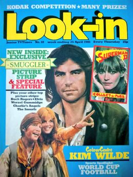 1981-04-25 Look-In 1 cover