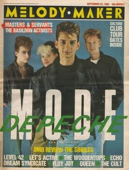 1984-09-22 MM cover Depeche Mode